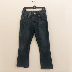 GAP Boot Coupe Semi Evasee Denim Jeans 31/30